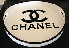 Chanel DIY tray