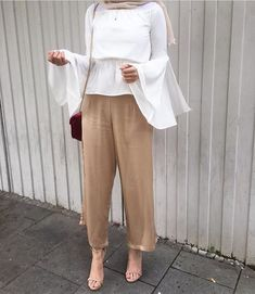 Women's World: 20 Awesome Hijab Pants Outfits