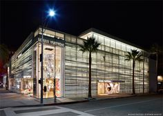 Architect Peter Marino designed Louis Vuitton's Rodeo Drive Maison in Beverly Hills, California