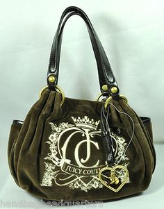 Love their bags. This bag makes me want to cuddle..  JUICY COUTURE BABY FLUFFY VELOUR BAG