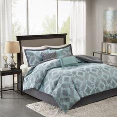 Madison Park Axel 7-piece Jacquard Comforter Set