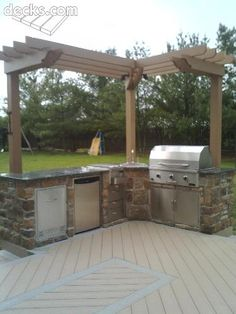 Outdoor Kitchen  #DriscollsSweepstakes