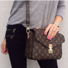 Louis Vuitton, handbag, Stylish