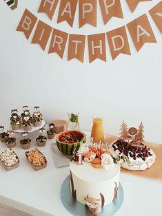 Birthday Cake, Birthday Parties, Birthday Ideas, Wild Ones, Animal Party, Woodland, Wedding, Food, Cactus Plants