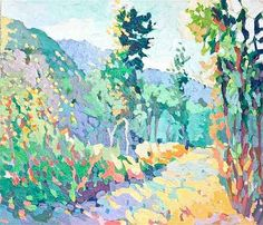 """Maine Art Scene: Giclee Prints Offered by Henry Isaacs Studio. """"Old Road Above Asiago"""" by Henry Isaacs www.henryisaacs.com"""