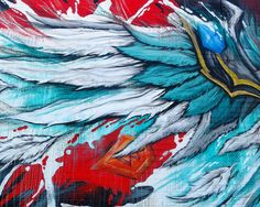 detail- Meggs, Summoners War (January, 2015) Arts District, Los Angeles