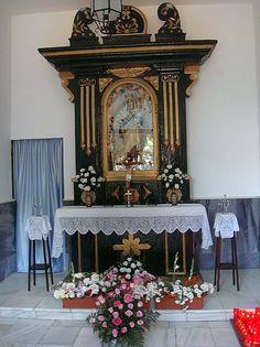 Interior capilla del cementerio