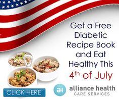 FREE Diabetic Recipe Book | Closet of Free Samples