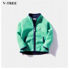 >> Click to Buy << V-TREE Spring Jacket For Girls Multicolor Children's Winter Jackets Fleece Boys Coat Baby Cape Girls Windbreaker Outerwear #Affiliate