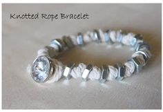 with an i.e.: DIY: Knotted Rope Bracelet