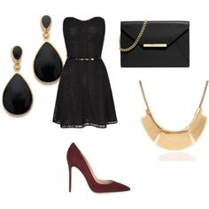 Untitled #22 by viihxoxo on Polyvore featuring polyvore fashion style Gianvito Rossi MICHAEL Michael Kors Kenneth Jay Lane