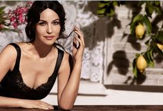 Dolce & Gabbana Inspired by Monica Bellucci for New Makeup Line - Harper's Bazaar