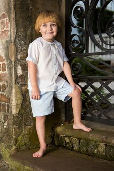 Hampton Short Set by Crescent Moon Children