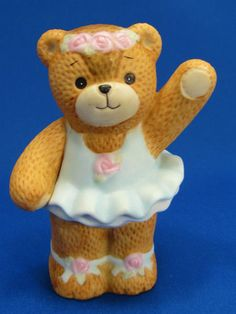 Enesco 1984 Lucy and Me Ballerina Bear Figurine