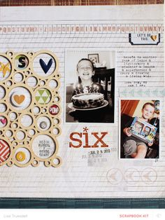 six by gluestickgirl at @Studio_Calico *stitching details*