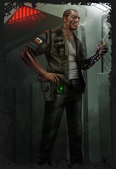 Tanker by digitalinkrod - This character makes me think of Adam apart from the bionic arm though.