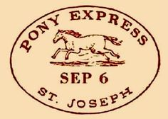 Oscar Wilde, St Joe, and Jesse James. Express Logo, Pony Express, 10 Interesting Facts, Cowboy Horse, Old West, Plans, American History, Fun Facts, Symbols