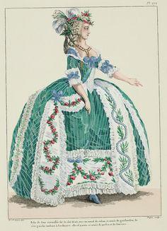 A Most Beguiling Accomplishment: court dress