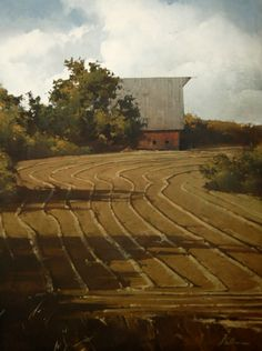 Shadows and Rows   - Joseph Alleman    -   oil   -       Montgomery Lee Fine Art