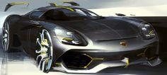 2015 | Porsche | Design by Andrey Konopatov (VW Design Team) | Source