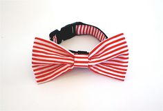 Bowtie Collar pepper mint by usagiteam on Etsy, $24.00