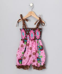 Pink Bouquet Romper - Infant & Toddler