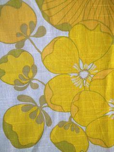 60s vintage mod retro fabric. Made in Sweden, scandinavian design. Great condition.