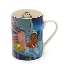 Tiana mug from Disney Store UK.
