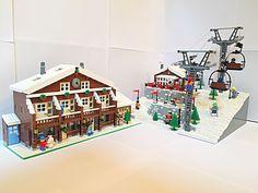 Afbeeldingsresultaat voor how to build a lego slope