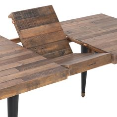 on sale Modi Extending Dining Table Simple Dining Table, Dining Table With Bench, Dinning Room Tables, Dining Set, Extendable Dining Room Table, Reclaimed Wood Dining Table, Wooden Dining Tables, Upholstered Dining Chairs, Dining Furniture