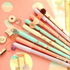 Kawaii Hello Kitty Pendant Gel Pen