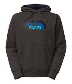 The North Face Half Dome Hoodie Mens Graphite Grey Cosmic Blue Gradient M  The North 6faee83265