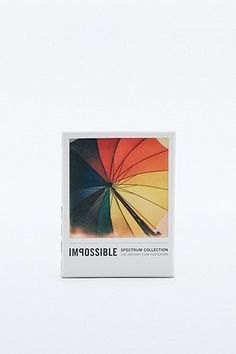 The Impossible Project Spectrum Collection : 100 cartes postales Polaroïd
