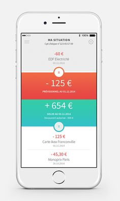 Client : La Caisse d'EpargneAgency : BackstoryDesign : Angelique CalmonHowizi is the new application of the Caisse d'Epargne, a French bank. It guides young people in the management of their accounts and their savings.