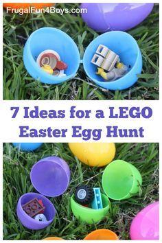 Ideas for a LEGO Easter Egg Hunt