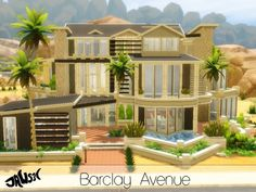 The Sims Resource: Barclay Avenue by Jaws3 • Sims 4 Downloads