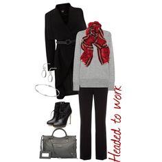"""Winter Work Wear"" by beth-corliss-kraetsch on Polyvore    #winter #fashion"