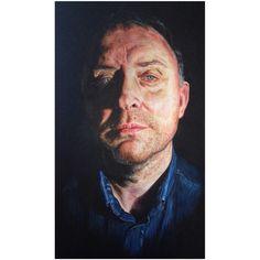 A Level Final Piece  Portrait in acrylic paints
