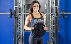 12 Week Women's Bikini Prep Workout Program - This workout, designed by womens bikini competitor Traisha Martin, is the exact workout she has bee - Bikini Fitness, Bikini Workout, Women's Fitness, Health Fitness, Men Health, Muscle Fitness, Gain Muscle, Muscle Men, Build Muscle
