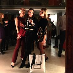 "Negri Firenze at ""Closed Party"" of the magazine #RivistaRussa http://www.negrifirenze.com/en/shop/woman/"