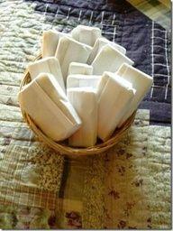 Old fashion soap making using the crockpot