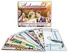 60 lustige Hochzeitsspiele für das Brautpaar / Ratgeber + Shop Personalized Items, Books, Wedding, Lisa, Amazon, Guest Gifts, Newlyweds, Gift Cards, Celebration