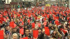 Anti Austerity Alliance Dublin Demo April 2013