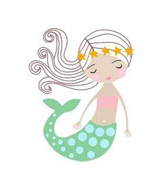 Resultado de imagem para mermaid illustration