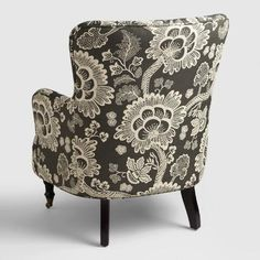 Charmant Black And White Floral Reading Chair | World Market | For The Home |  Pinterest | Bedroom Nook, Bedrooms And Living Rooms