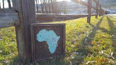 Africa Home Sign, Wood Africa Sign. Metal Africa, Adoption Birthplace Sign, Wood Sign, African Home Decor, Heart over Aftrica, Rustic Decor by CharaWorks on Etsy