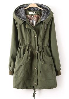 Ladies Green Jacket