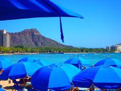 waikiki beach and diamond head Waikiki Beach, Patio, Diamond, Outdoor Decor, Terrace, Porch, Diamonds, Courtyards