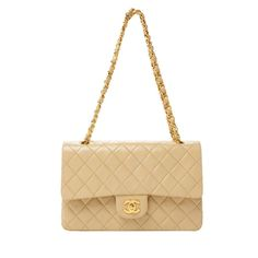 Vintage Chanel 2.55 small double flap bag  excellent condition  lambskin with gold hardware  comes with dustbag and authenticity card  asking $2249  comment for more information or to purchase this item