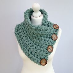 Crochet Kit Scarf. Knit kit. Super Chunky by WoolCoutureCompany